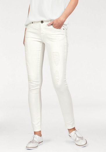 Laura Scott Destroyed-Jeans, im Used-Look