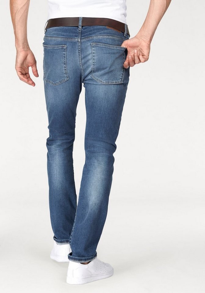 Tom Tailor Polo Team Stretch-Jeans »SUPER-STRETCH« in blue-used