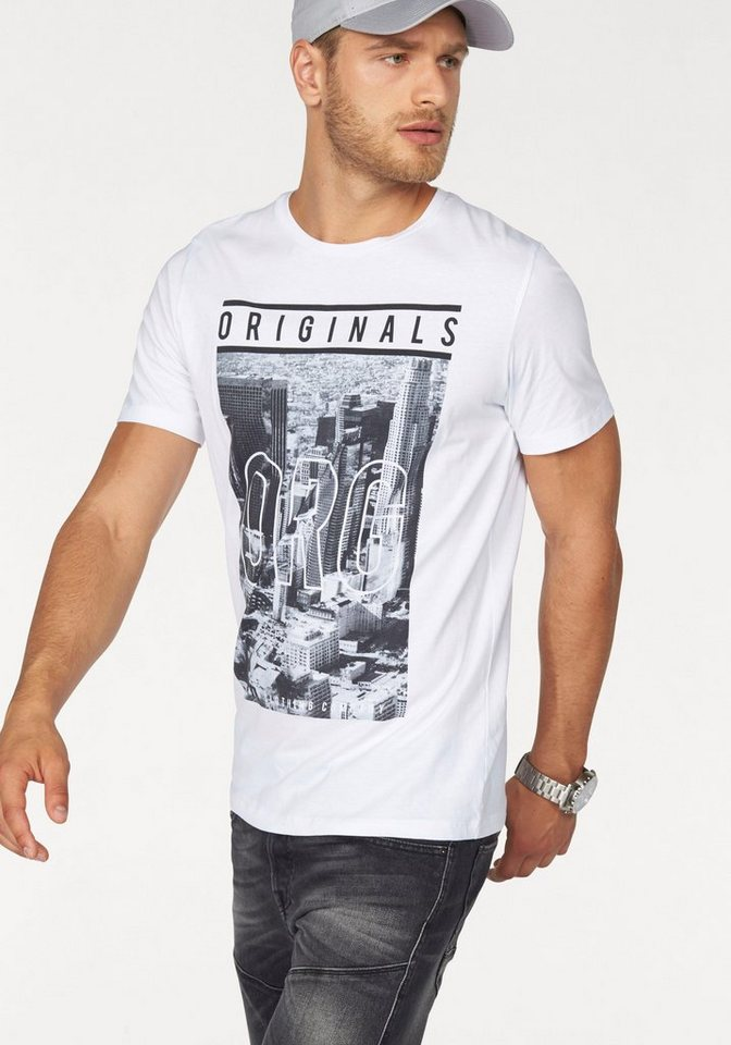 Jack & Jones T-Shirt in weiß