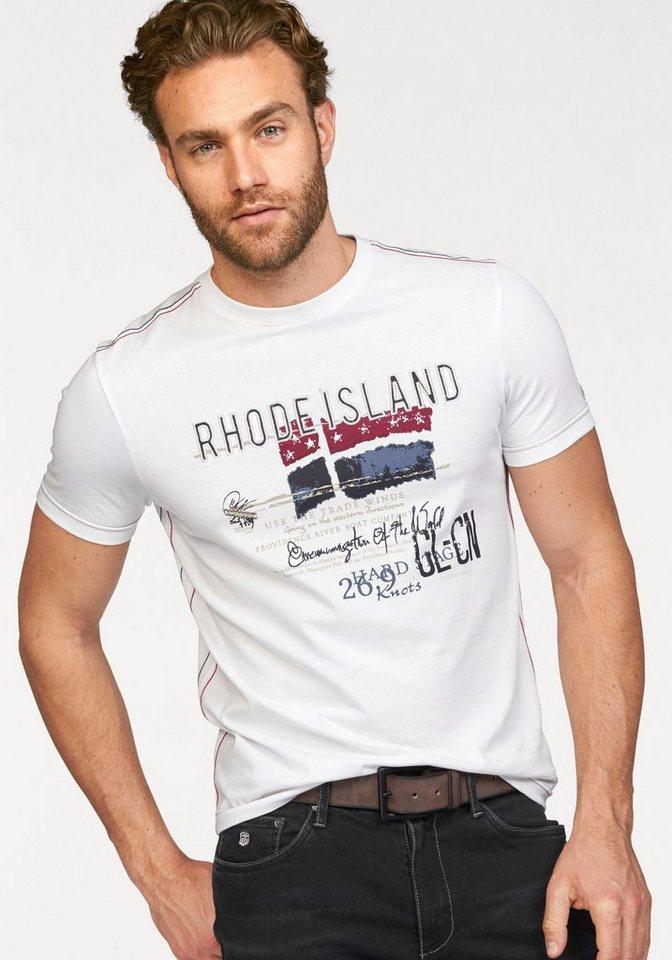 Rhode Island T-Shirt in weiß