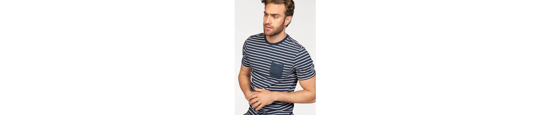 Rhode T Shirt mit Brusttasche Rhode Island Island rgwBtg