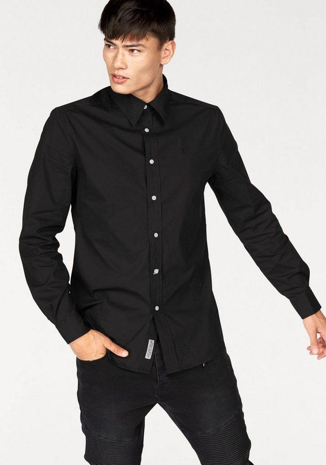 Bruno Banani Hemd in schwarz