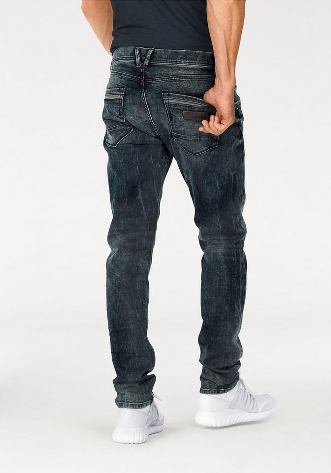 Bruno Banani Slim-fit-Jeans »Kyle (Stretch)« in darkblue-used