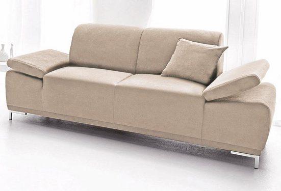 DOMO collection 2-Sitzer, inklusive Armlehnenfunktion