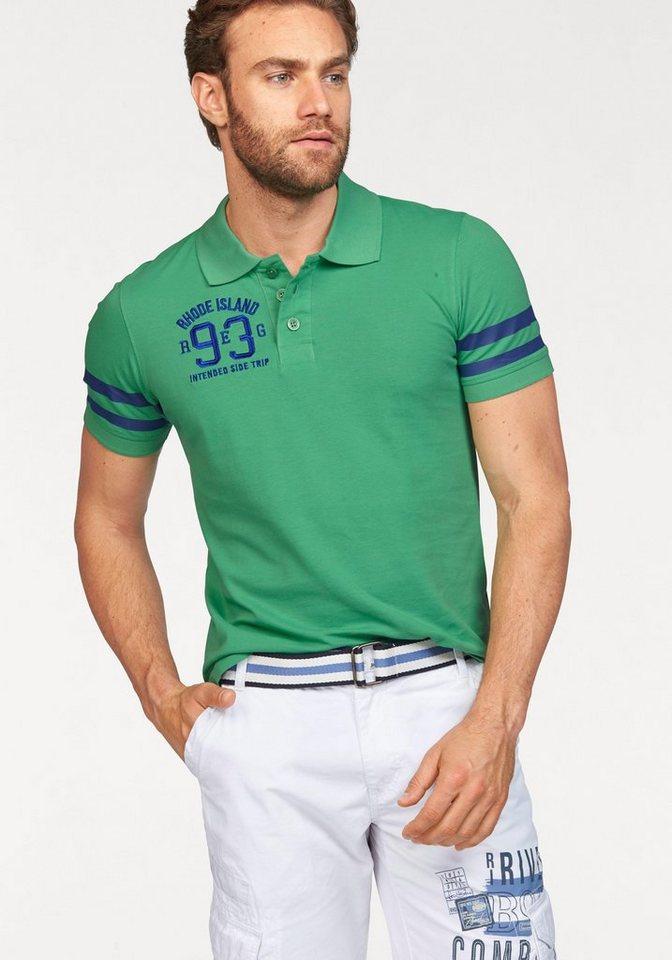 Rhode Island Poloshirt in Piqué-Qualität in hellgrün