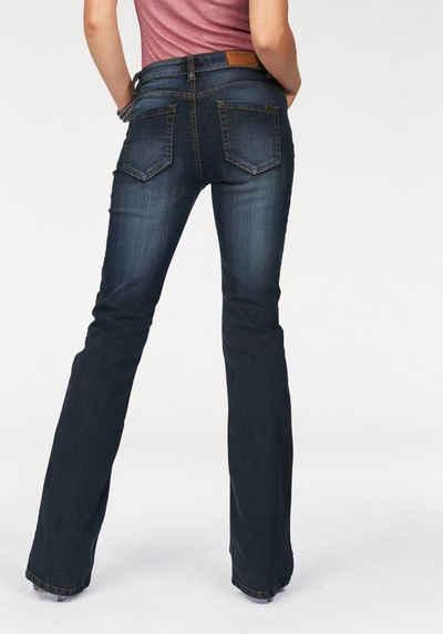 bootcut jeans dames stretch