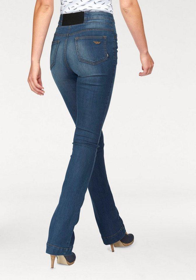 Jeans mit bootcut