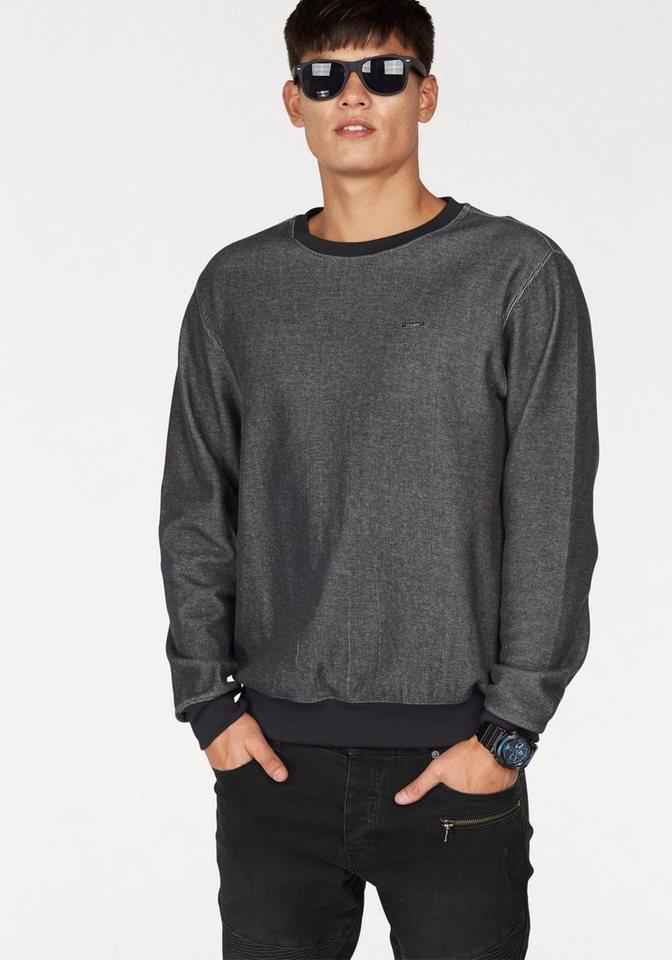 Bruno Banani Sweatshirt in anthrazit