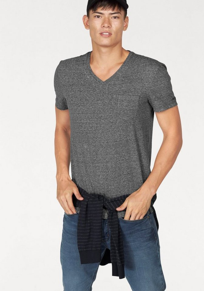 Bruno Banani T-Shirt in grau-meliert