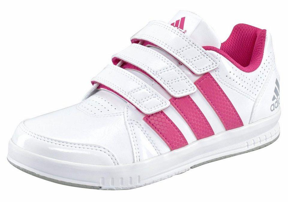 adidas Performance Sneaker »LK Trainer CF« Kinder in weiß-pink