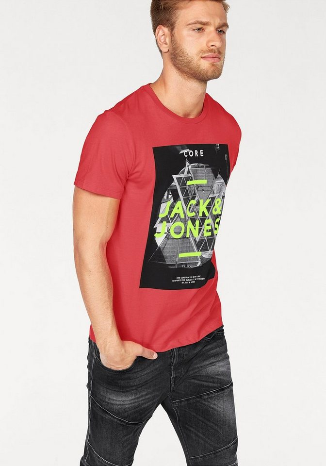 Jack & Jones T-Shirt in rot