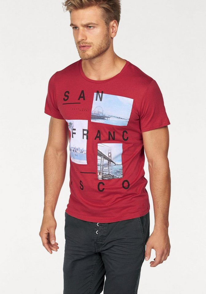 Q/S designed by T-Shirt in rot