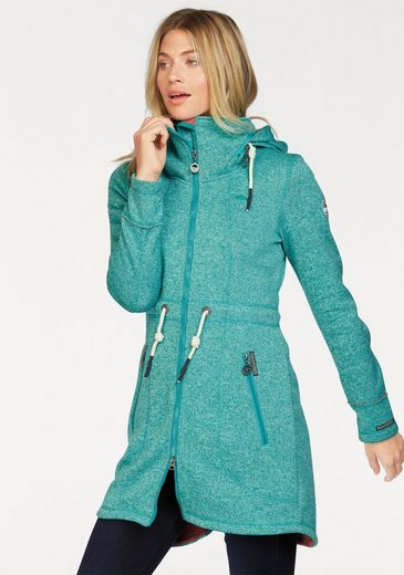 Schmuddelwedda Fleece Jacket In Parka-form
