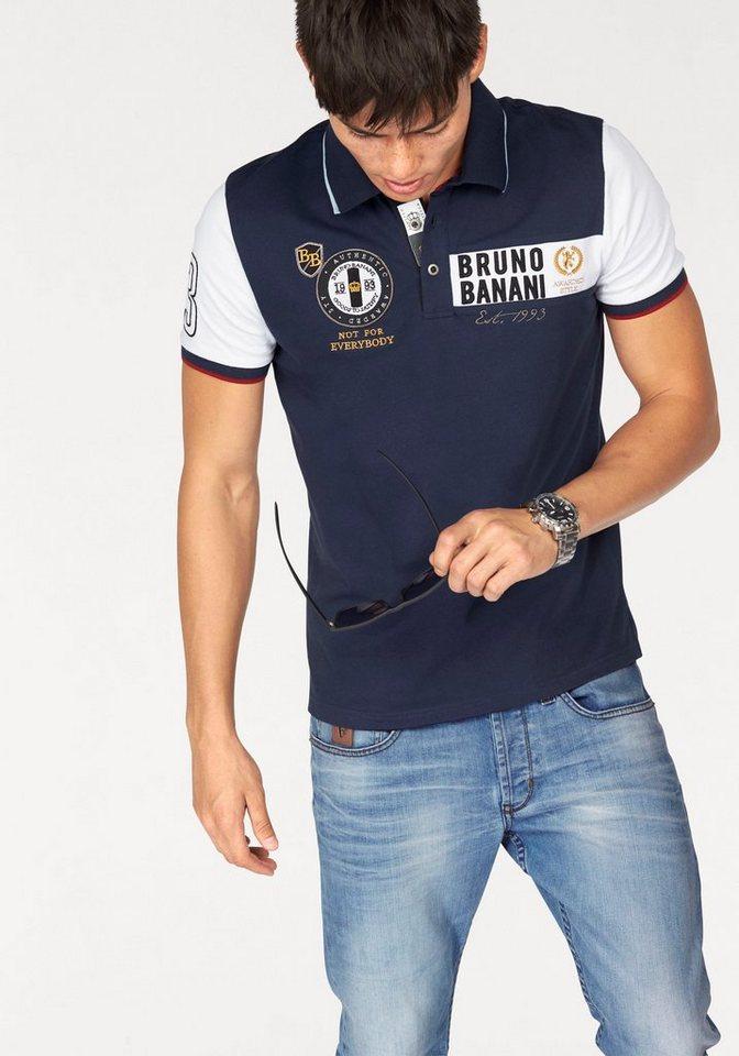 Bruno Banani Poloshirt in marine