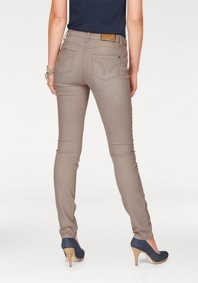 Arizona Skinny-fit-Jeans »Shaping« in taupe-used