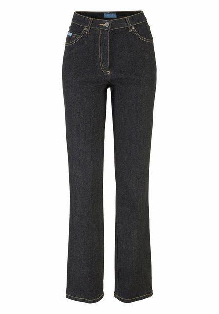 Hosen - Arizona Gerade Jeans »Annett« High Waist › schwarz  - Onlineshop OTTO