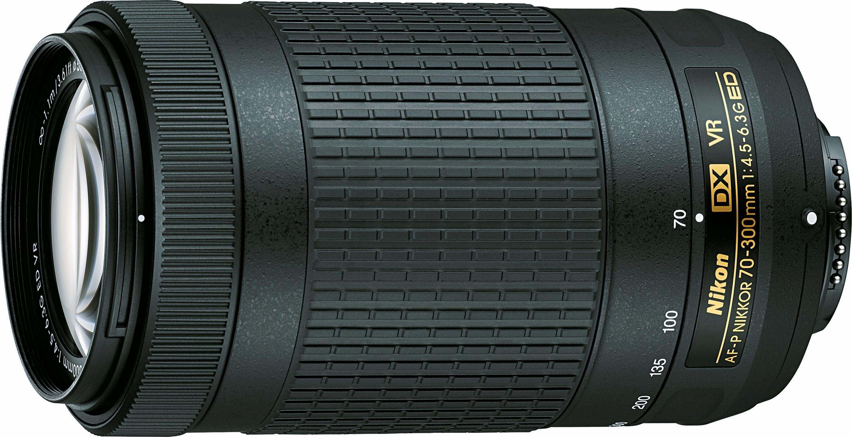 Nikon AF-P DX 70-300 mm 1:4,5-6,3G ED VR Supertele Objektiv