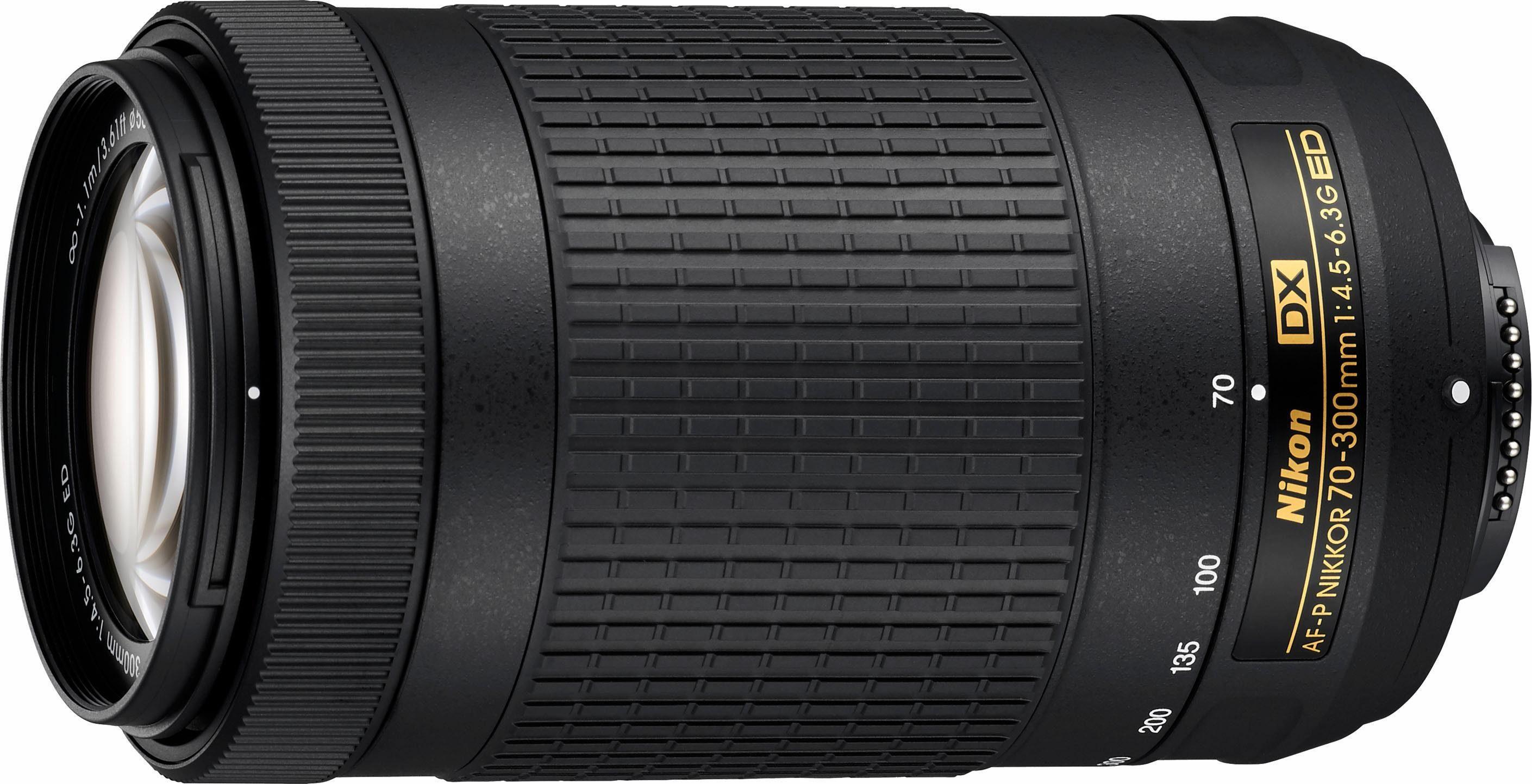Nikon AF-P DX 70-300 mm 1:4,5-6,3G ED Supertele Objektiv