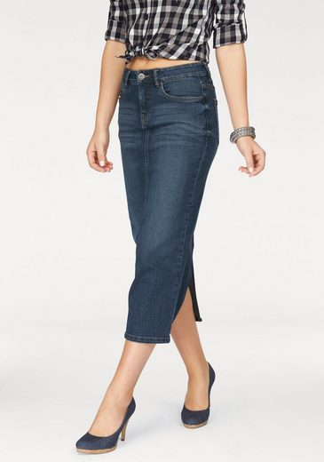 Arizona Jeansrock in angesagter Midiform