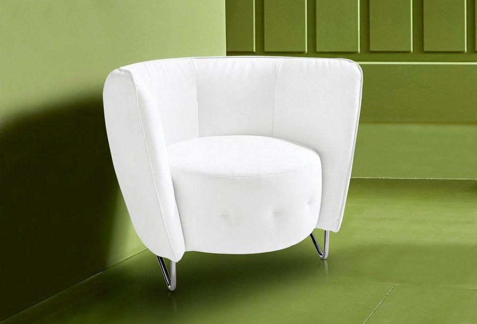 INOSIGN Sessel in altweiß