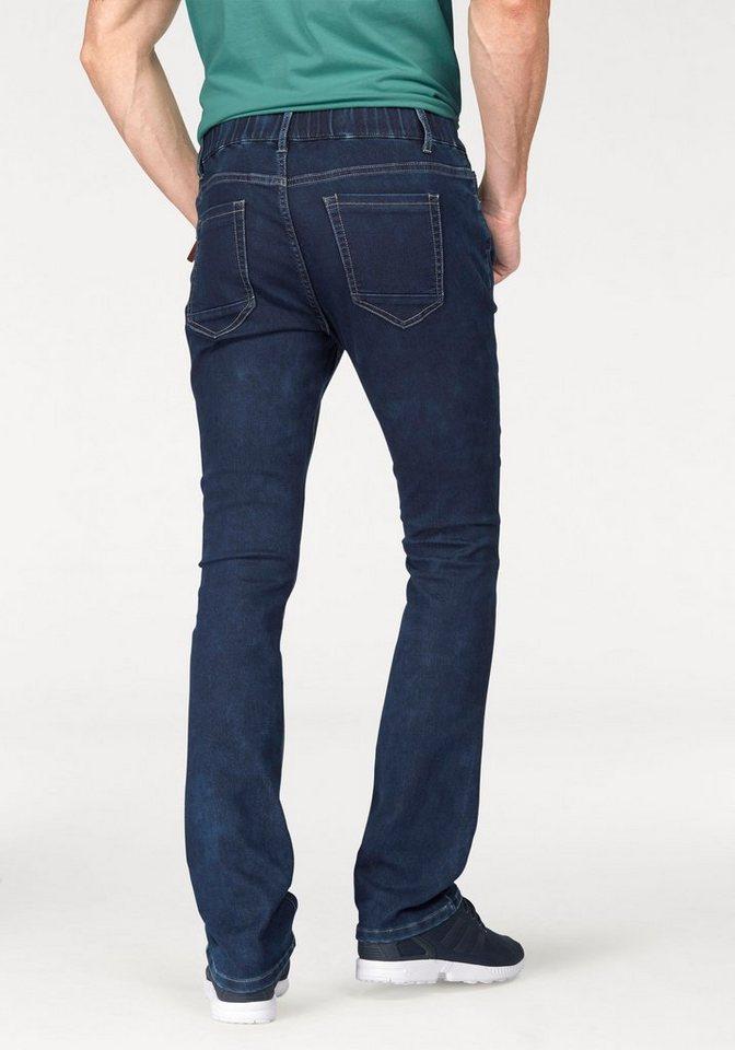 John Devin Jogg Pants in darkblue-used