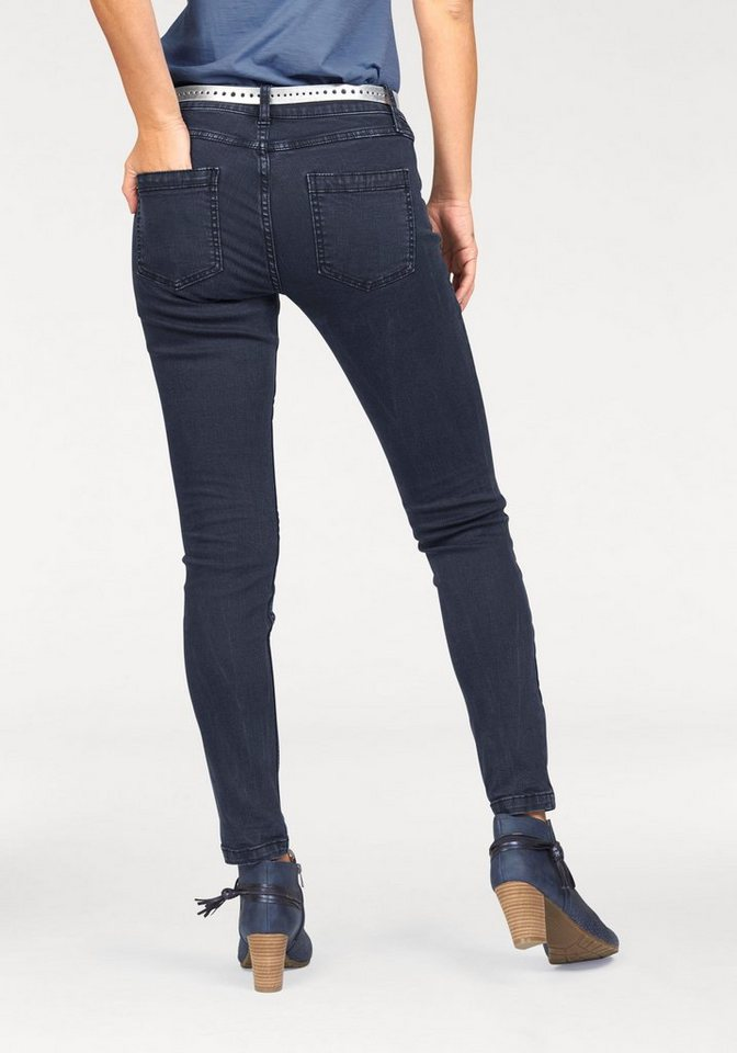 s.Oliver RED LABEL Skinny-fit-Jeans Superkinny Passform in navy-denim