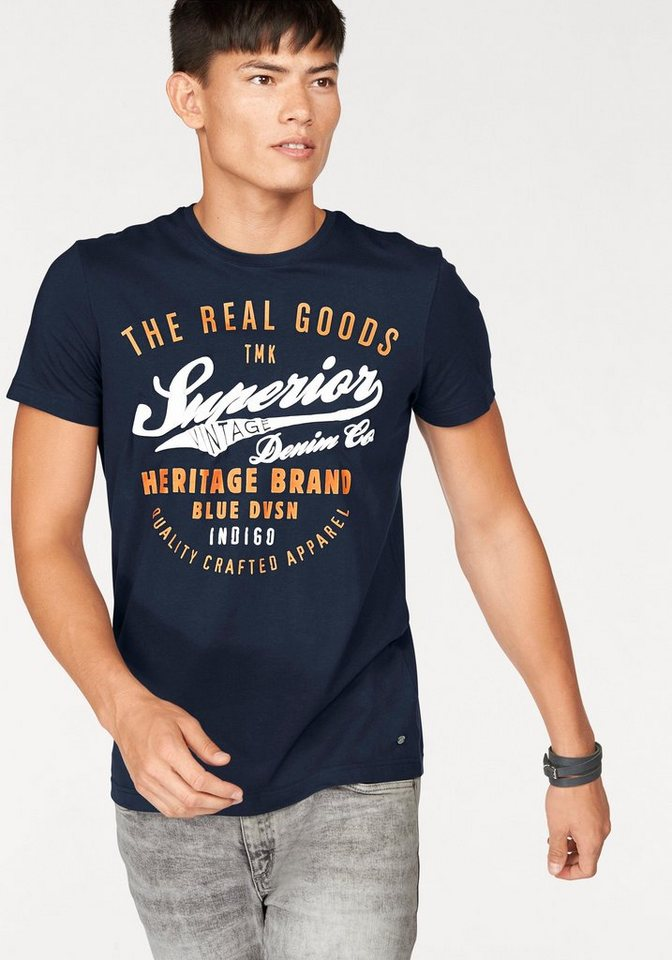 John Devin T-Shirt in marine