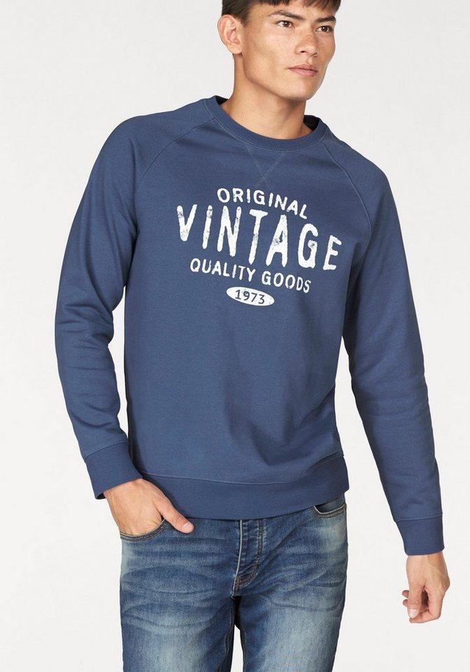 John Devin Sweatshirt in blau
