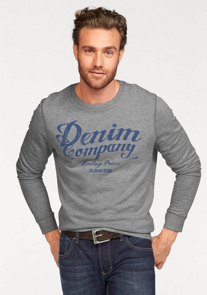 Colorado Denim Sweatshirt in grau-meliert