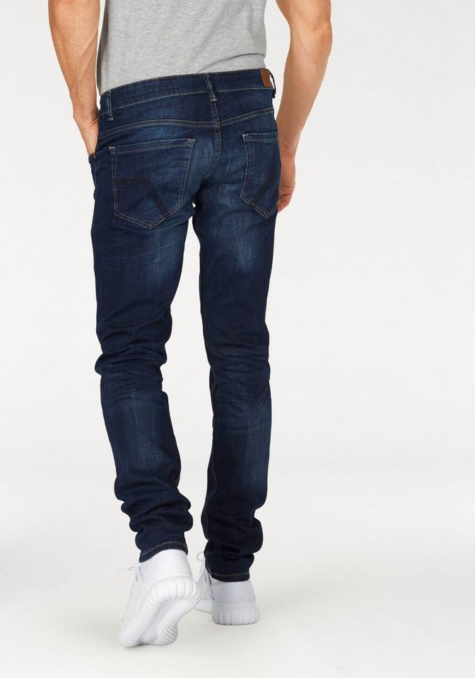 Q/S designed by Slim-fit-Jeans »Rick« in blue-used