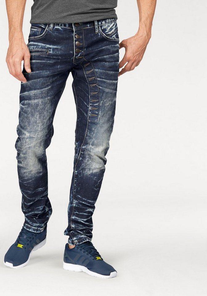 Cipo & Baxx Slim-fit-Jeans in darkblue-used