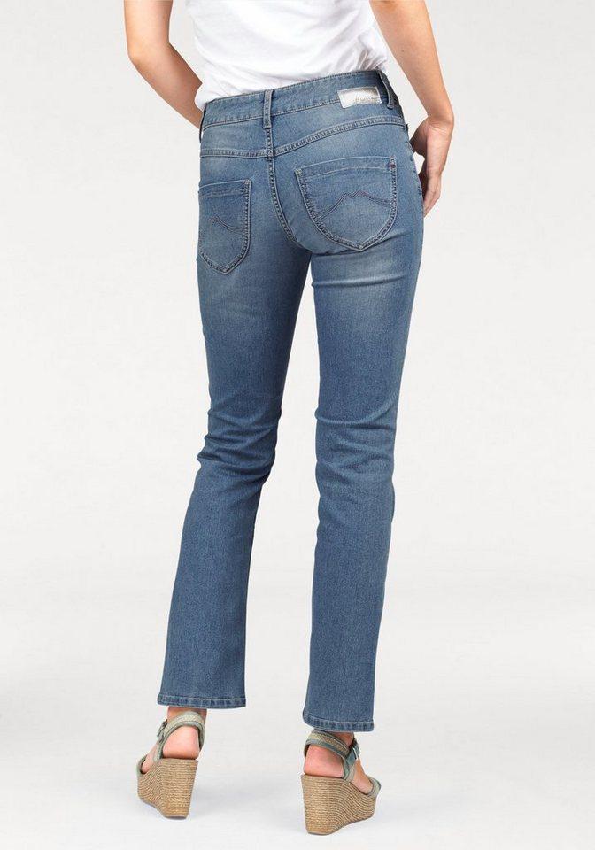 Mustang 5-Pocket-Jeans »Julia« Julia in light-blue-used