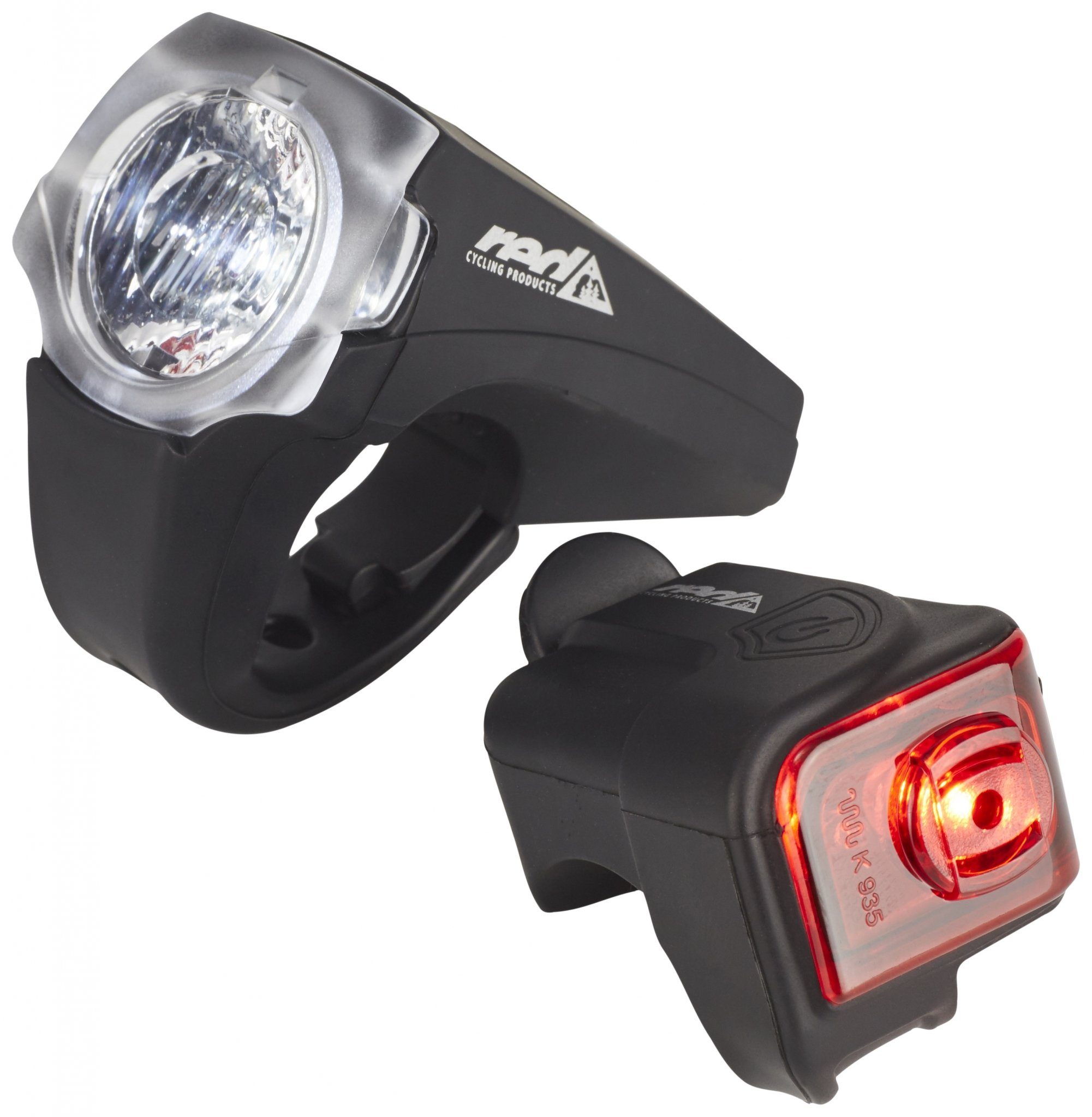 Red Cycling Products Fahrradbeleuchtung »PRO 20 Lux Urban LED Beleuchtungsset«