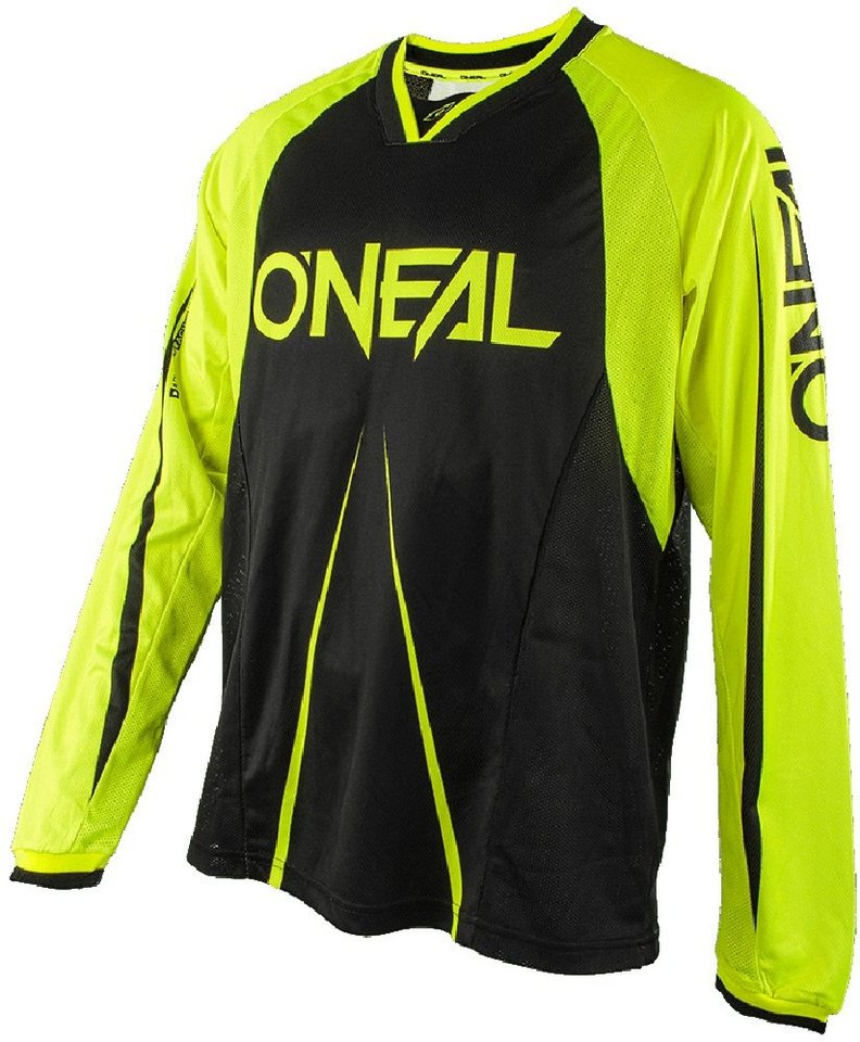 O'NEAL Radtrikot »Element FR Blocker LS Jersey Men« in schwarz