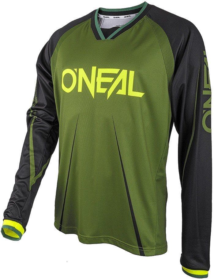 O'NEAL Radtrikot »Element FR Blocker LS Jersey Men« in grün