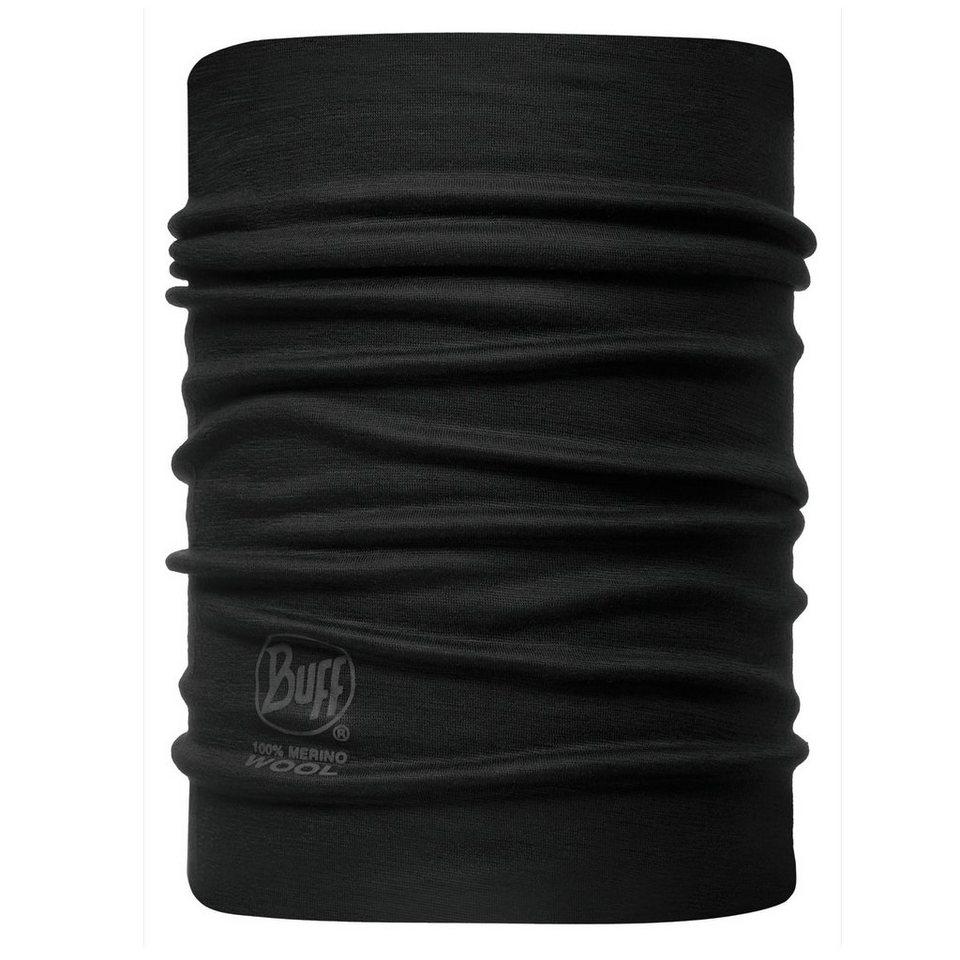 Buff Halstuch »Neckwarmer Wool Rev.« in schwarz