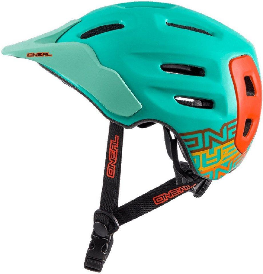 O'NEAL Fahrradhelm »Defender Flat Helmet« in türkis