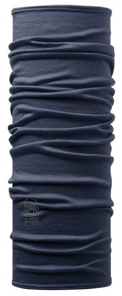 Buff Accessoire »Merino Wool Neckwarmer« in blau