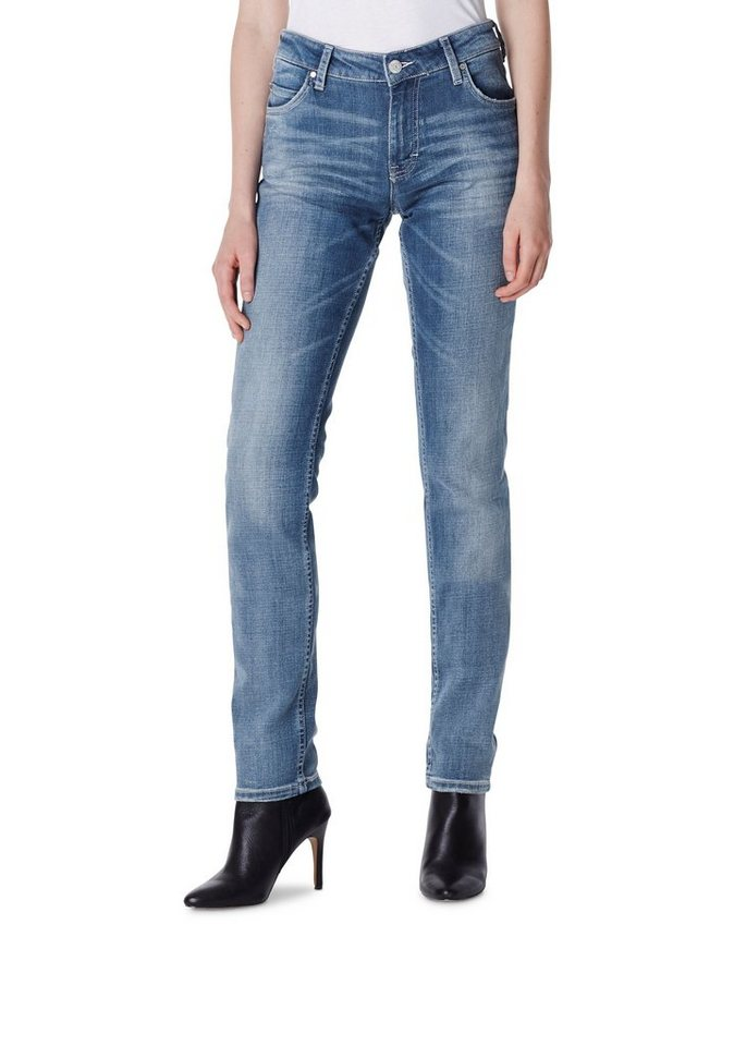 MUSTANG Jeans »Sissy Slim« in aged bleached