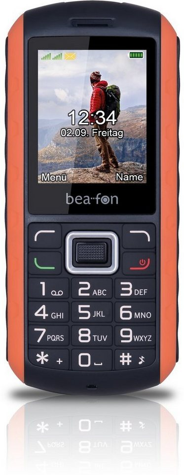 Beafon Handy »AL550« in Orange-Schwarz