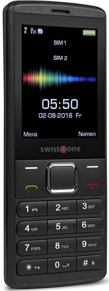 swisstone Handy »SC 550« in Schwarz