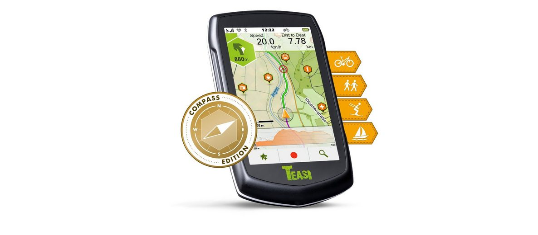 TEASI Outdoor-Navigationsgerät »ONE³ eXtend«
