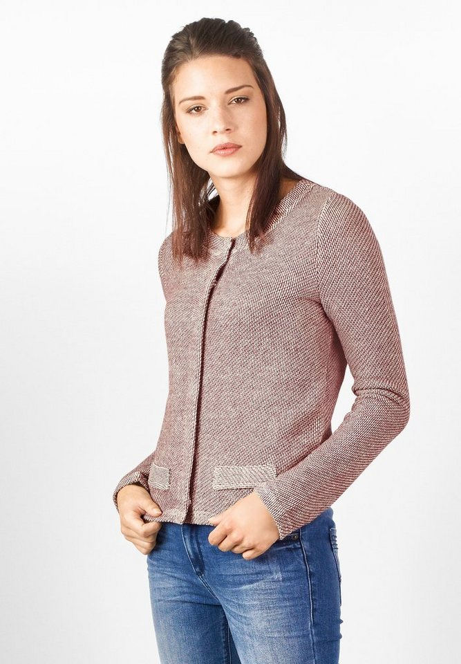 Street One Sweatjacke Gitta in night plum