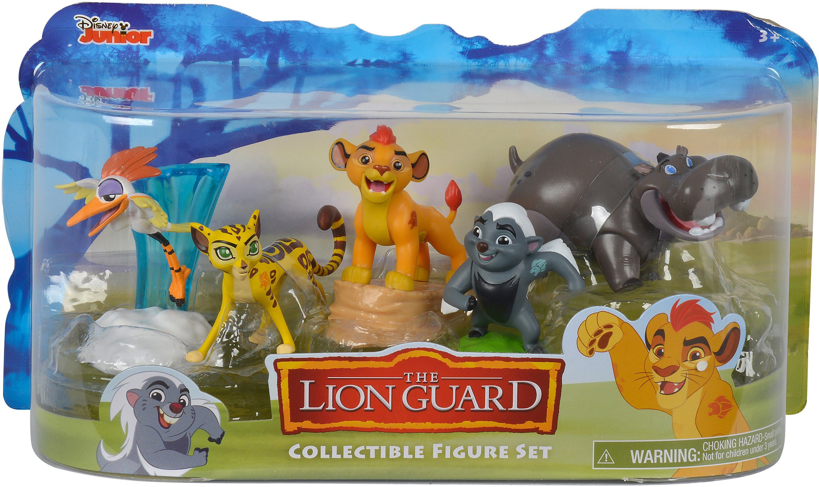 Simba Spielfiguren, »Disney Lion Guard, Figuren Set 5 Stück«