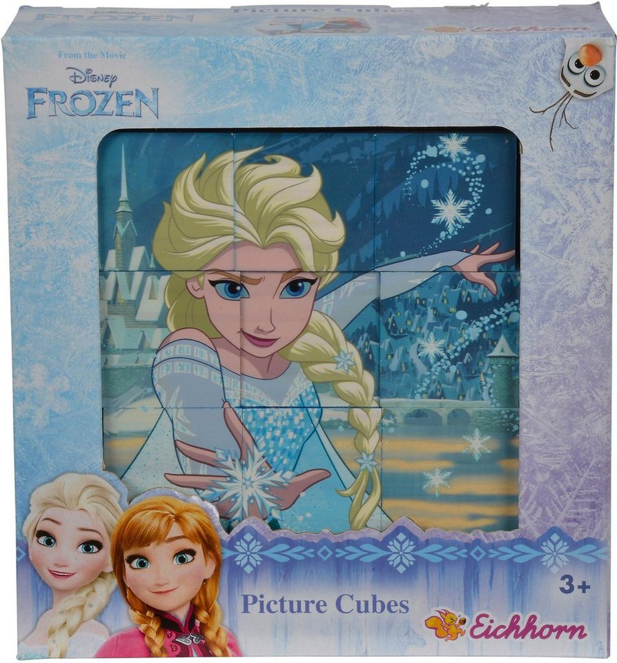 Eichhorn 3D Puzzle aus Holz, »Disney Frozen, Bilderwürfel«