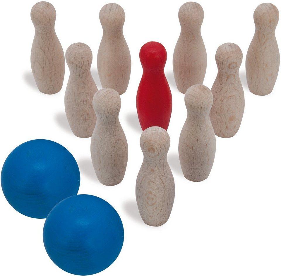 Heros Kegelset aus Holz, »Bowlingspiel, 12 tlg.«