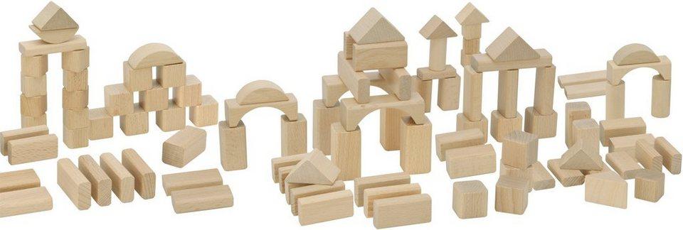 Heros Bauklötze aus Buchenholz, »Natur Holzbausteine«