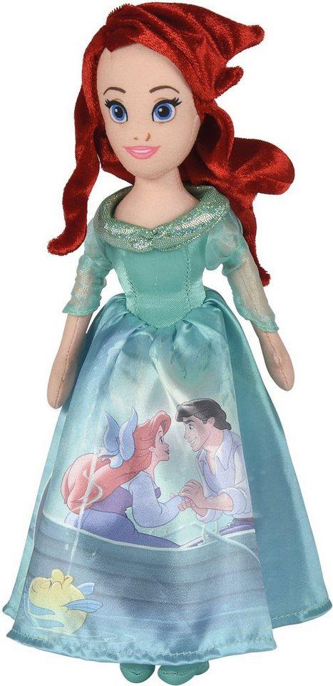 Simba Stoffpuppe, »Disney, Prinzessin Arielle 25 cm«