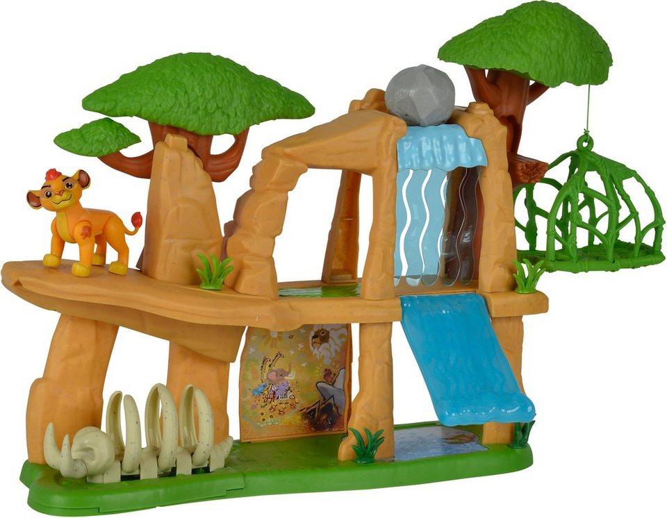 Simba Spiellandschaft mit beweglicher Figur, »Disney Lion Guard, Pride Lands Spielset«