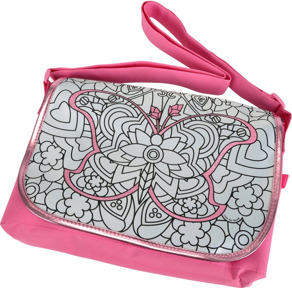 Simba Tasche zum Bemalen, »Color me mine, Diamond Party Courier«